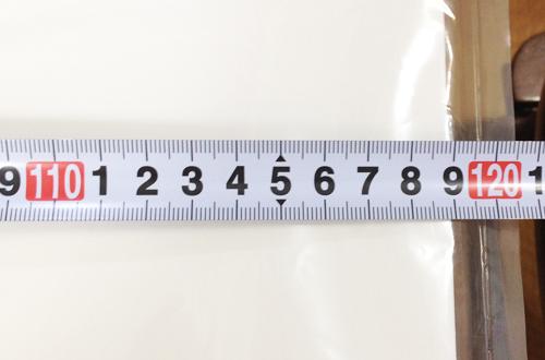 A1スチレンボードサイズ計測