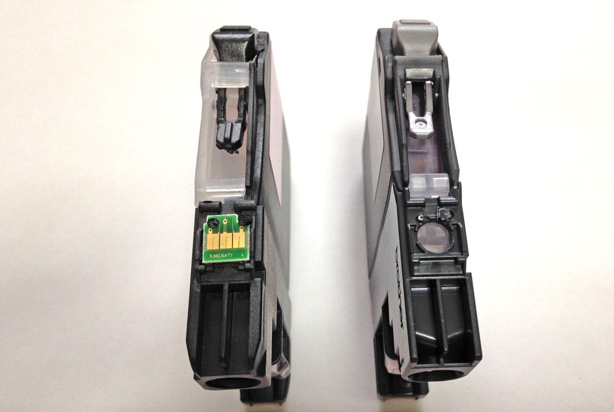 LC211カートリッジICチップ換装