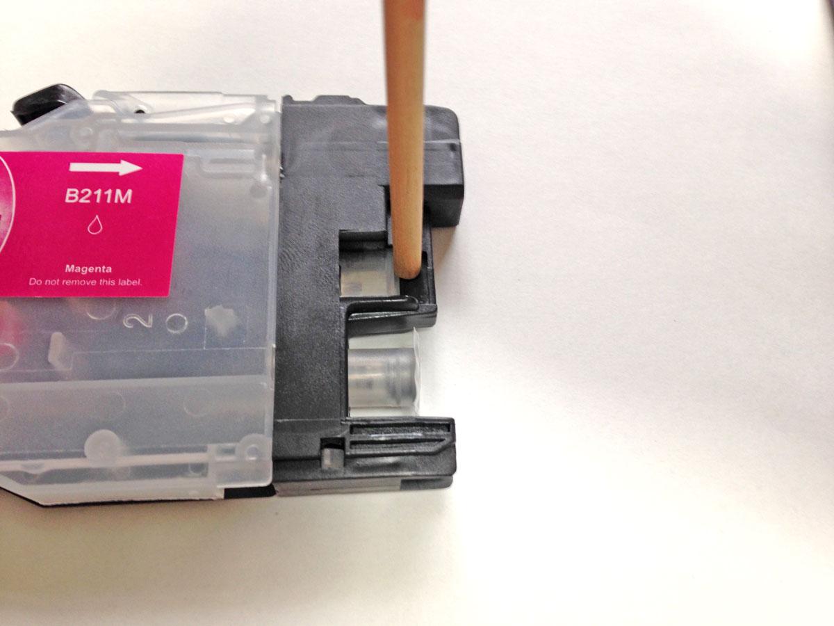 LC211カートリッジセンサー窓保護プラスチック加工箇所