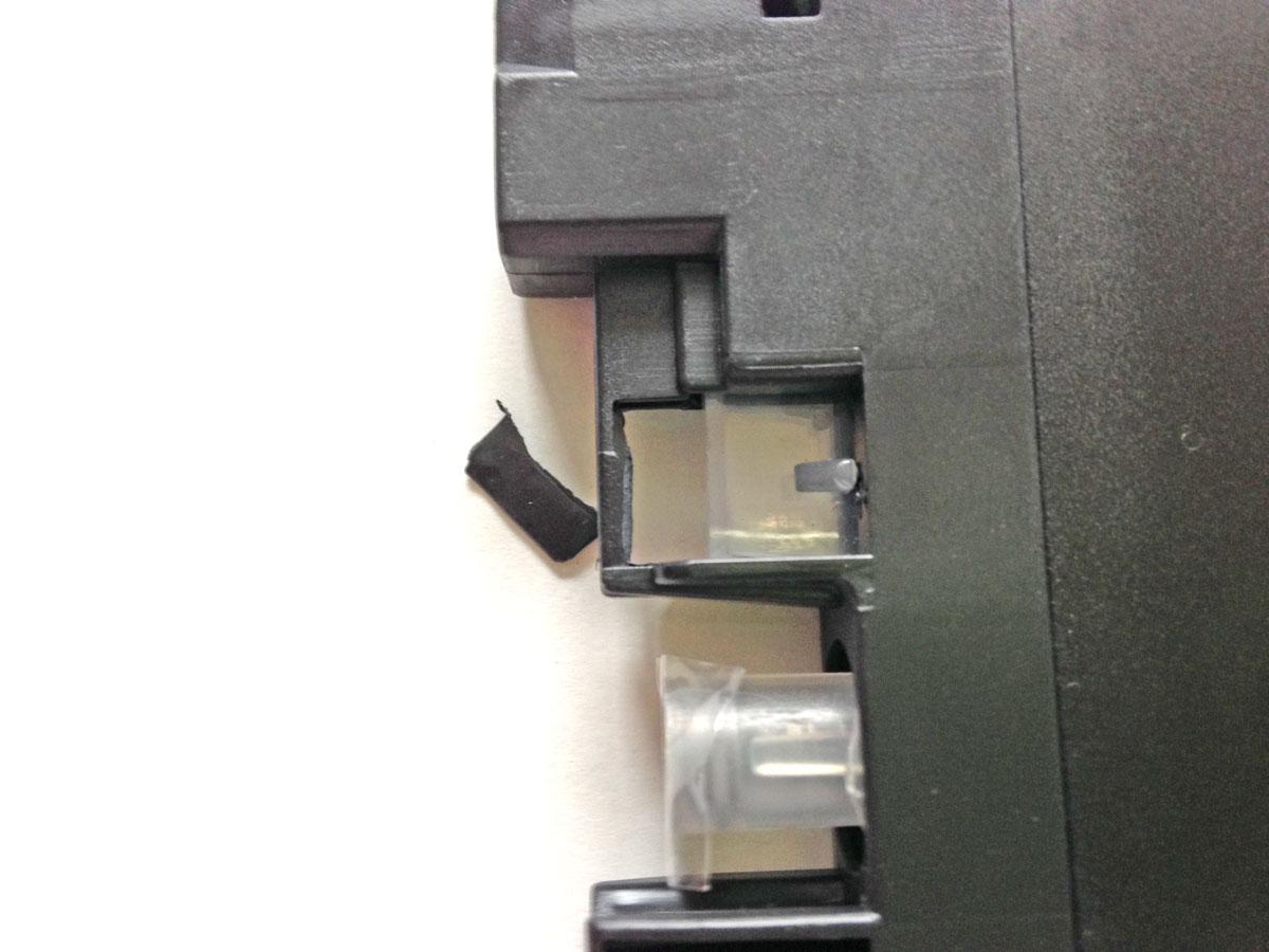 LC211カートリッジセンサー窓保護プラスチック加工