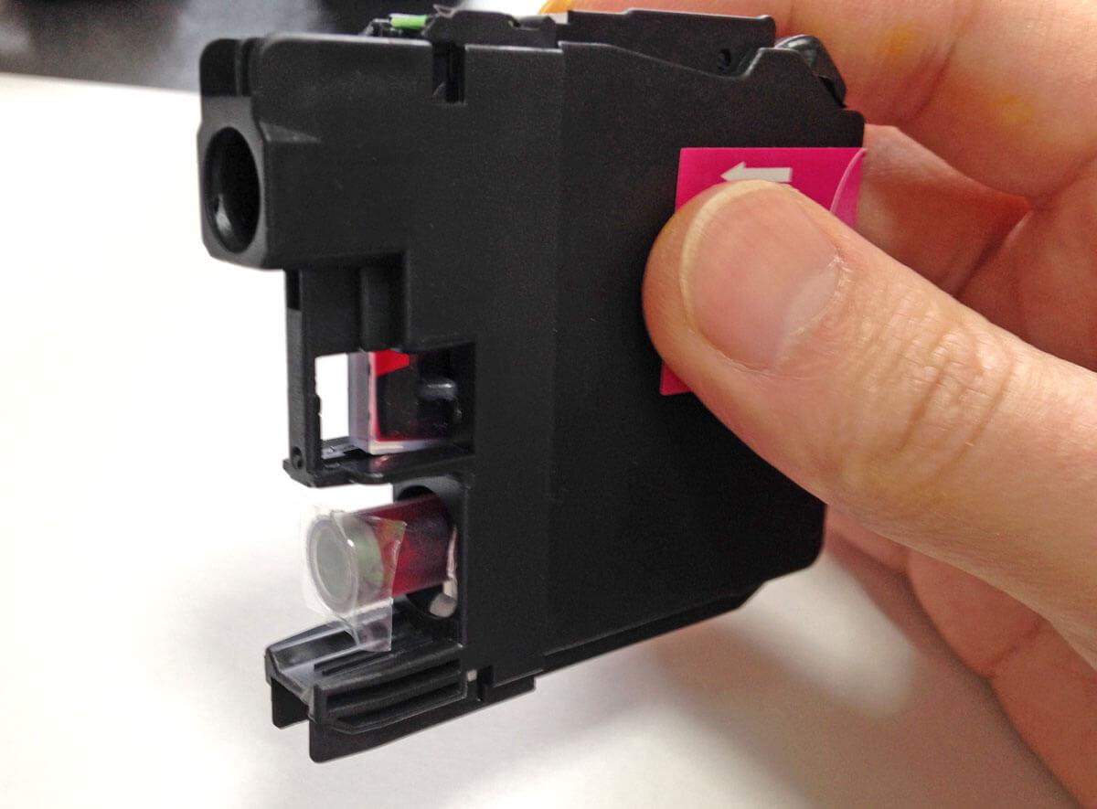 インク水位センサー