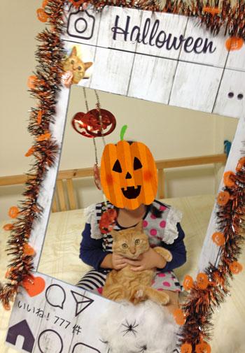 Halloweengram撮影イメージ