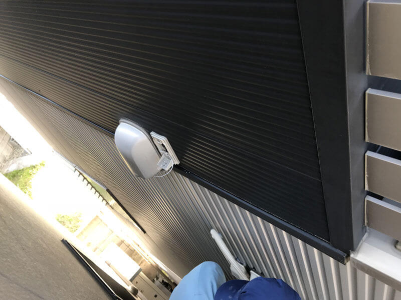 LAN配線外壁