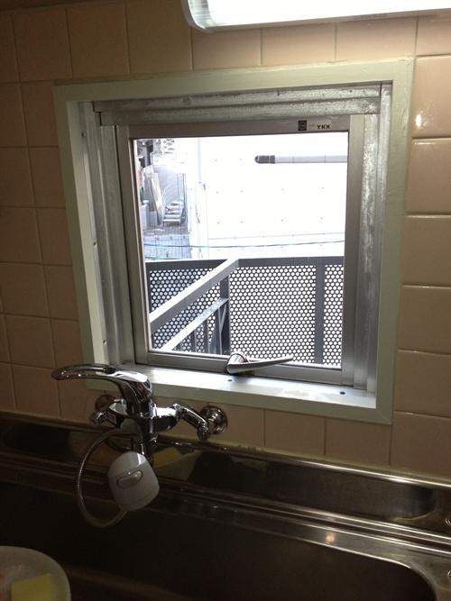 窓洗浄完了